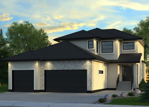 House for sale in the Evergreen area of Saskatoon at 238 Mahabir Court.